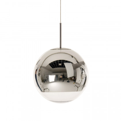 Tom Dixon Mirror Ball 40 Pendant Light - Chrome Silver