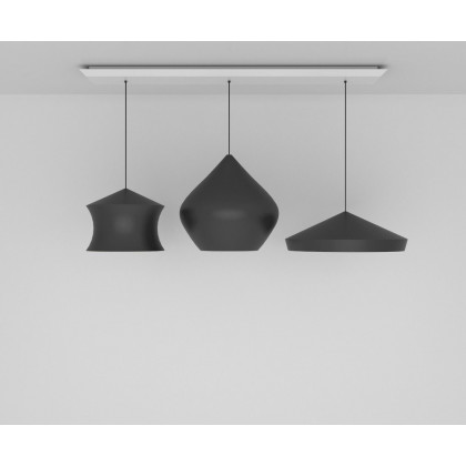 Tom Dixon Beat Trio Linear Pendant System