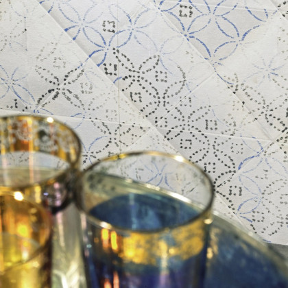 Elitis Majorelle Wallpaper