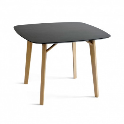 Colé Italian Design Label Tria Square Table - Anthracite grey