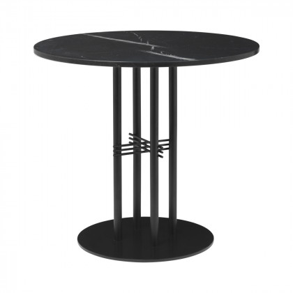 Gubi Ts Column Dining Table - Round
