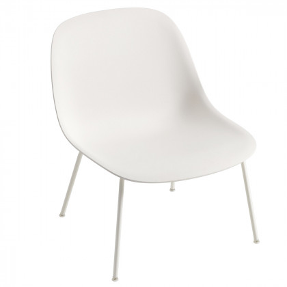 Muuto Fiber Lounge Chair - Tube Base
