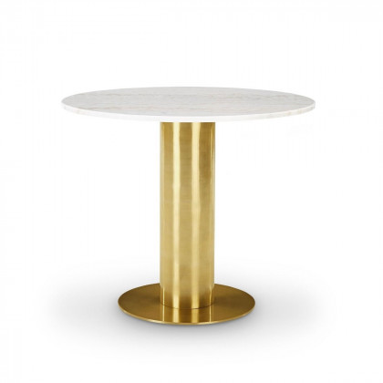 Tom Dixon Tube Table – White Marble Top
