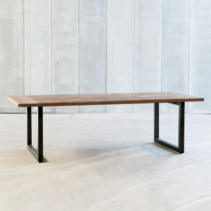 Heerenhuis Tube Reclaimed Teak Dining Table