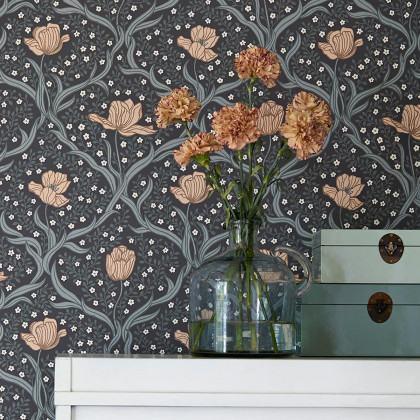 Borastapeter Tulippa Wallpaper