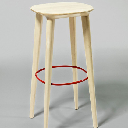 Minus tio Audrey Bar Birch Stool - Natural