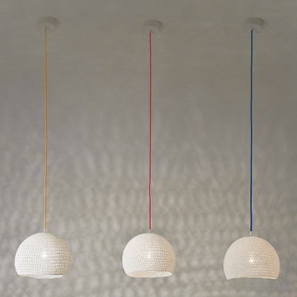 In-es.artdesign Trama 1 Wool Pendant Light