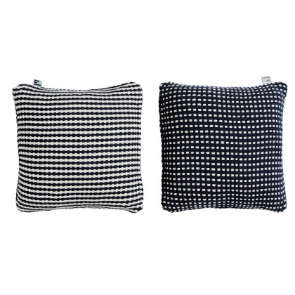 Simon Key Bertman Stripes & Dots Cushion Cover