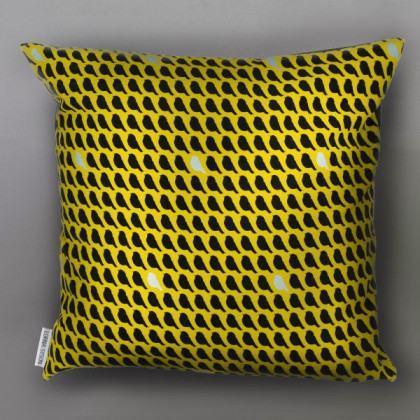 Lorna Syson Flock Sunrise Cushion