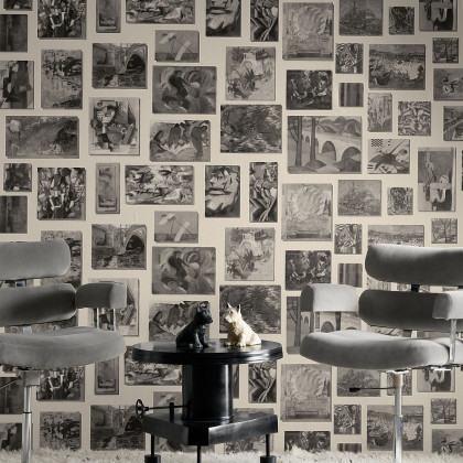 Andrew Martin Museum Rockefeller Wallpaper (3 x 10M Rolls)