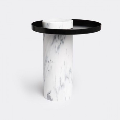 La Chance Salute Marble Side Table - Medium