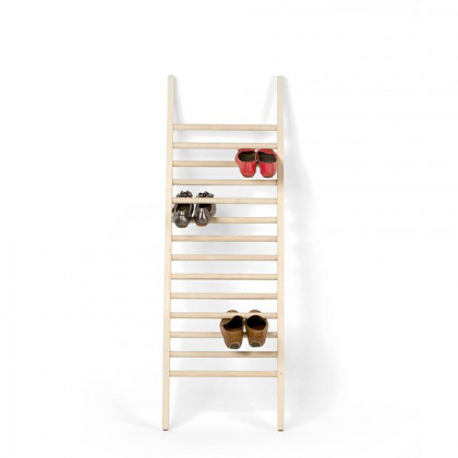Emko Step Up Wood Shoe Rack