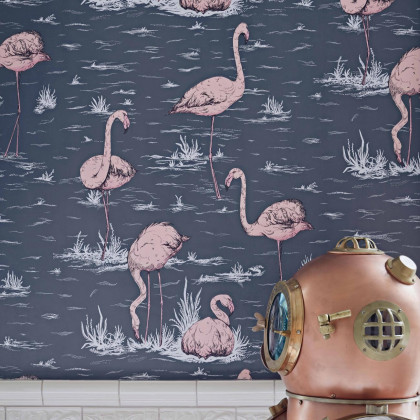 Cole and Son Flamingos Wallpaper - Icons