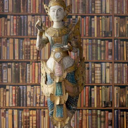 Andrew Martin Navigator Library Books Wallpaper (2 X 10m Wallpaper)