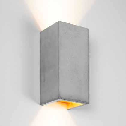Gant Lights B8 Concrete Wall Light - Light Concrete