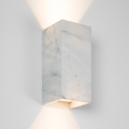 Gant Lights B8 Marble Wall Light - White Carrara
