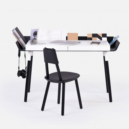 EMKO My Writing Desk - 2 Drawers Black