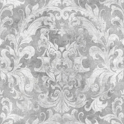 Mineheart Urban Concrete Damask Wallpaper