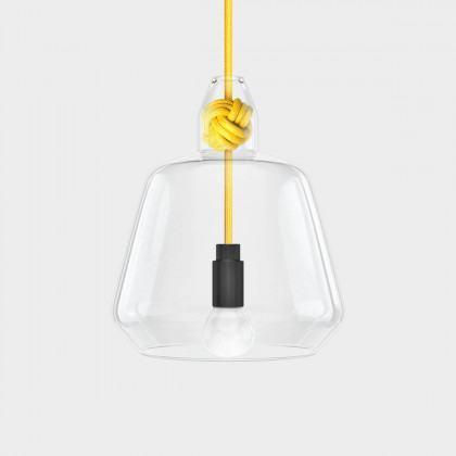 Vitamin Large Knot Pendant Lamp - Yellow