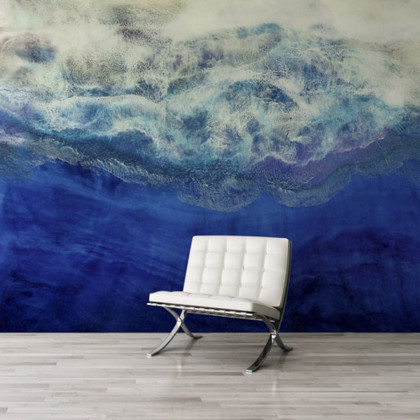 Feathr Waiting To Surface Mural Wallpaper