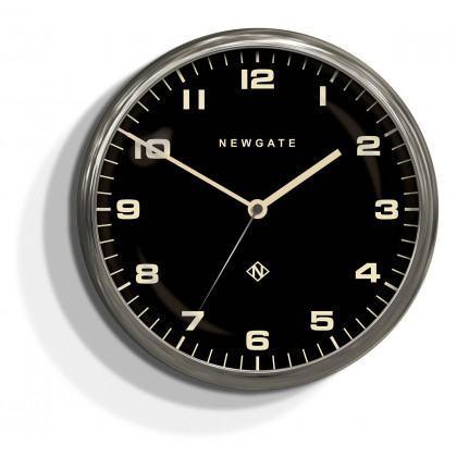 Newgate Chrysler Clock - Burnished Steel