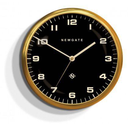 Newgate Chrysler Clock - Radial Brass
