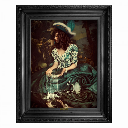 Mineheart Water is Not Enough Canvas Print