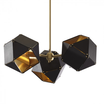 Gabriel Scott Welles Spoke Pendant Light