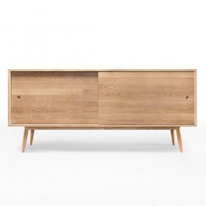 Wewood Oak Solid Wood Sideboard