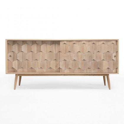 Wewood Scarpa Solid Oak Sideboard