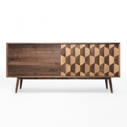 Wewood Scarpa Solid Walnut Sideboard