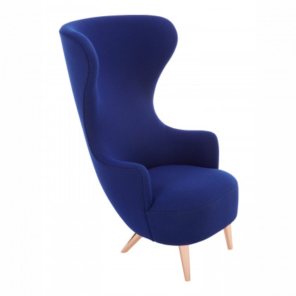 Tom Dixon Wingback Chair - Copper Legs