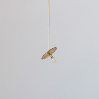 Workstead Industrial Pendant - Gold Brass