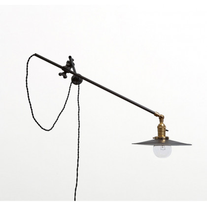 Workstead Industrial Wall Light - Black