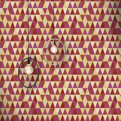 Mind The Gap Circus Pattern Geometric Wallpaper