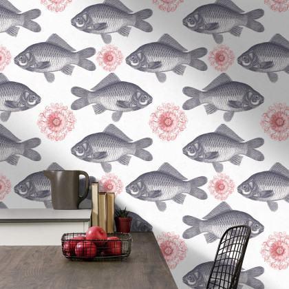 Mind The Gap Fish Wallpaper