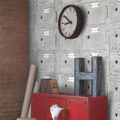 Mind The Gap Locker Room Wallpaper