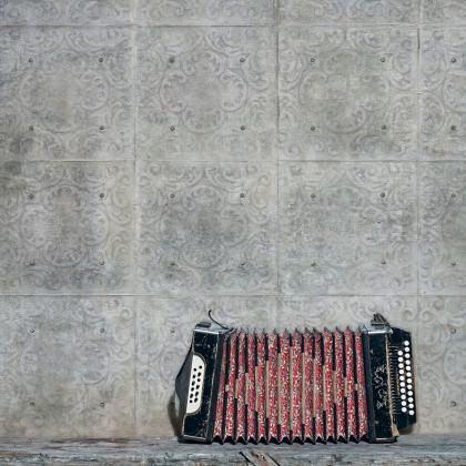 YoYo Designs Distressed Concrete Tiles Wallpaper V1.06