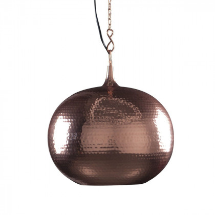 Zuiver Hammered Metal Round Pendant